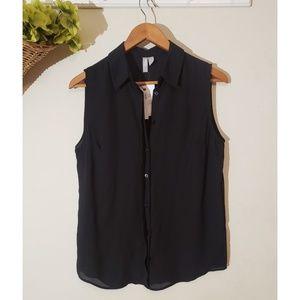 ASOS button down blouse